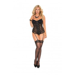 Lace Bustier Underwire Cups