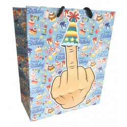 Middle Finger Gift Bag