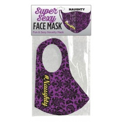 Super Naughty Face Mask