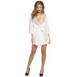 Satin Eyelash Robe